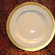 "SALE 12 Available Pickard 6 3/8""  Bread & Butter Plate ~  Hand Painted with Encrusted ..."
