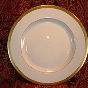 """SALE 12 Available  Pickard 8 ¼"""" Salad Plate  ~  Hand Painted with Encrusted Diamond Rim ~ J"""