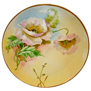 "SALE Wonderful Limoges Porcelain Cabinet Plate ~ Hand Painted by Pickard Artist ""Florence"