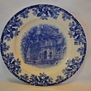 SALE The Tulane University Library Souvenir Plate ~ W.T. COPELAND & SONS Ltd Staffordshire, UK