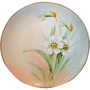 SALE Gorgeous Porcelain Cabinet Plate by PICKARD Studios ~signed by Curtis Marker. Pheasant's