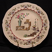 SALE Beautiful Aesthetic / Japonesque Earthenware Plate – Copeland 1850-1867
