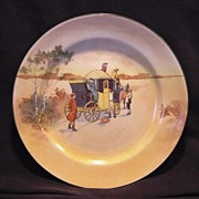 """SALE """" Hard to Find""""  Royal Doulton's Coaching Days Series Plate~  D2716 Scene #4~ """"â€"""