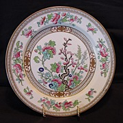 """SALE """"Hard to Find"""" English Plate ~  Dresden Pattern (Indian Tree) D2920 ~ By Doulton ..."""