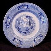 "SALE Unbelievable English Blue and White Transferware ~ ""SIAM"" Pattern ~ J Clementson 1840"