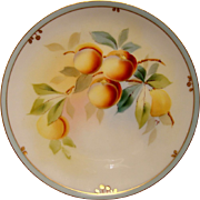 SALE Wonderful Pickard Studio Plate Hand Painted with Peaches or Apricots by Paul Gasper ~ Pic