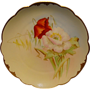 "SALE Wonderful Bavarian Porcelain Cabinet Plate ~ Hand Painted by Pickard Artist  "" George ."