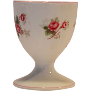 Shelley Bone China Egg Cup ~ Rose Spray / Bridal Rose Pattern 13545~ Dainty Shape ~ ...