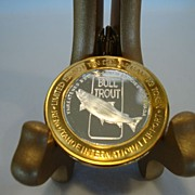 SALE Casino gaming token, limited edition .999 silver - Reno Tahoe Airport