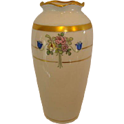 SALE Cute Art Deco Porcelain Vase ~ Hand Painted with Flowers ~ Pickard Studios Chicago ...