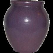 SALE Gorgeous Fulper  Ovid vase ~ Wisteria Purple Glaze ~ Mold 584 ~ Fulper Art Pottery ~ Flem