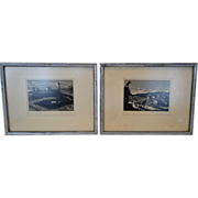 "SALE Very Nice Serigraph Prints of ""The Fiddler on the Roof"" and ""Wind and Water"" ..."