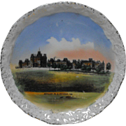 Asylum No. 3, Nevada, Missouri Porcelain Wheelock Dresden Souvenir Dish