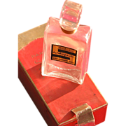 SOLD Perfume Bottle Schiaparelli Salut with Box