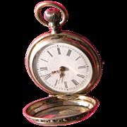 SALE Ladies Watch 800 Silver Watch Chatelaine Piece Working Watch