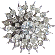 SALE Rhinestone Pin by Coro Brooch