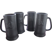 SALE Playboy Club Beer Mugs From X Playboy Bunny Photo and Provenance