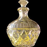 SALE Crystal Perfume Bottle Lavender Purple Perfect