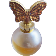SALE Butterfly Perfume Bottle Annick Goutal Gardenia Passion