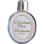 SALE Christian Dior Mini Perfume Bottle Hard to Find Diorissimo Paris