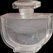 SALE Baccarat Perfume Bottle Crystal by Caron Fleurs De Rocaille