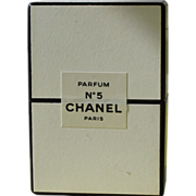 SOLD Perfume Bottle Boxed Unopened Unused Chanel No 5