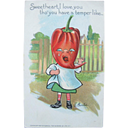 SALE Post Card Tucks Series for Patch Garden Dressed Veggie