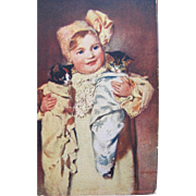 SALE Artist Signed Post Card with Kittens by Owens Rare$2.50 for shipping for First ...