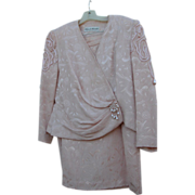 SALE Vintage Pink Suit 1980's with Kennedy Provenance