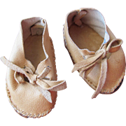 SALE Doll Shoes in Leather
