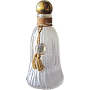 SALE Commercial Perfume Bottle Wresley Gold Tassel