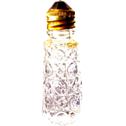 SALE Irice Perfume Bottle Jeweled Top in Red