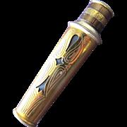 SALE Faberge Perfume Bottle Metal Casing Tigress 1938 Fabergette