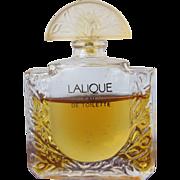 SALE Lalique Mini Perfume Bottle Lalique Eau de Toilette Paris France