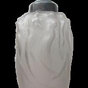 SALE R. Lalique Perfume Bottle Burner 1920 with Nudes No Top
