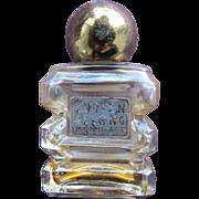 SALE Vintage Mini Perfume Bottle Lucien Lelong Mon Image 1933