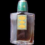 SALE Vintage Coty Perfume Bottle Small Mini Perfume  from 1916 Emeraude