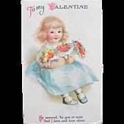 SALE Vintage Valentine's Day Cards by Ellen Clapsaddle