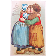 SALE Valentine's Day Post Card by Illustrator Frances Brundage 1906