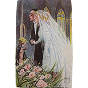 Post Card Wedding Funny Love and Life Series