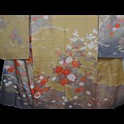 SALE Vintage Japanese Kimono