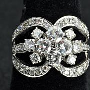 SALE 2.20 Carat Diamond Wedding Band