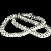 SALE 5.17 Carat Diamond Tennis Bracelet