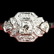 SALE Old European Cut Diamond Wedding / Engagement Ring / CLEARANCE SALE!!