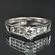 SALE .94 Carat Diamond Engagement Ring / CLEARANCE SALE!!