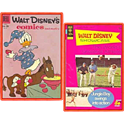 SOLD 1959 Disney's Comics and Stories Comic, No. 227, & 1973 World's Greatest Athlete Comic, N