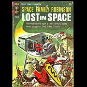 SOLD 1967 Space Family Robinson Lost in Space Comic, No. 20