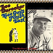 SALE 1975 Nice Guys Finish Last Book by Leo Durocher with Ed Linn, Marked 50% Off