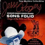 1946 Jesse Rogers Song Folio