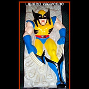 SALE 1993 Wolverine Nightlite by Headlites Collectables, Marked Over 50% Off